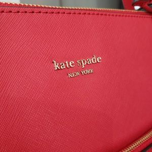 NWT Kate Spade Red Leather Purse